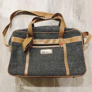Oscar De La Renta Tweed Luggage